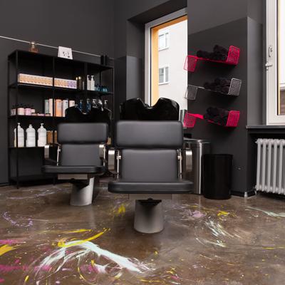 Unser Friseursalon von Innen